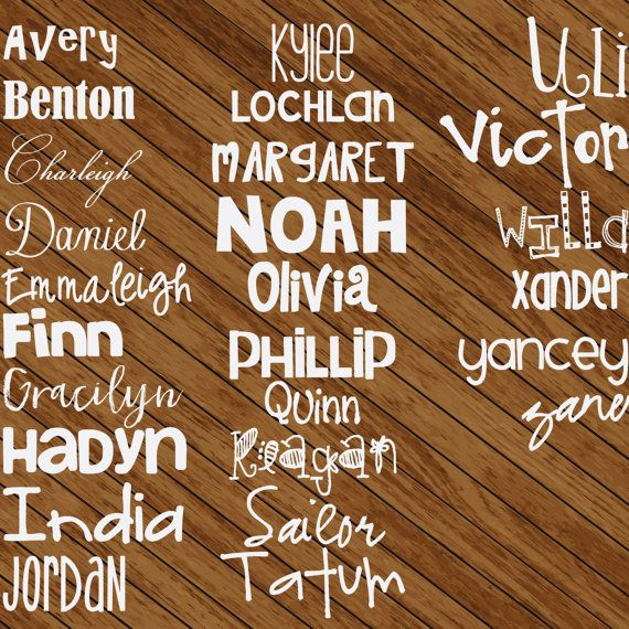 Any Word Decal Personalized Name Decal Font Decals - Custom car decals india   how to personalize