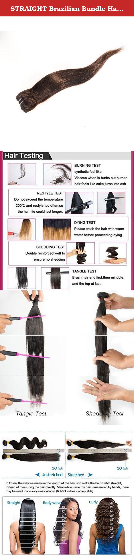 Straight brazilian bundle hair virgin hair weave extension weft t