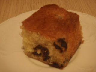 Thym en Rozemarijn: Cake met Bosbessen en Witte Chocolade