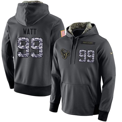 88229b237 ... NFL Mens Nike Houston Texans 99 J.J. Watt Stitched Black Anthracite  Salute to Service Player ...