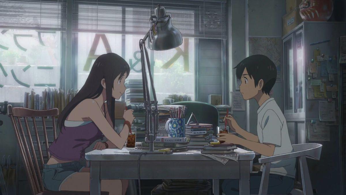Tenki No Ko Natsumi Hodaka Anime Movies Anime Anime Background