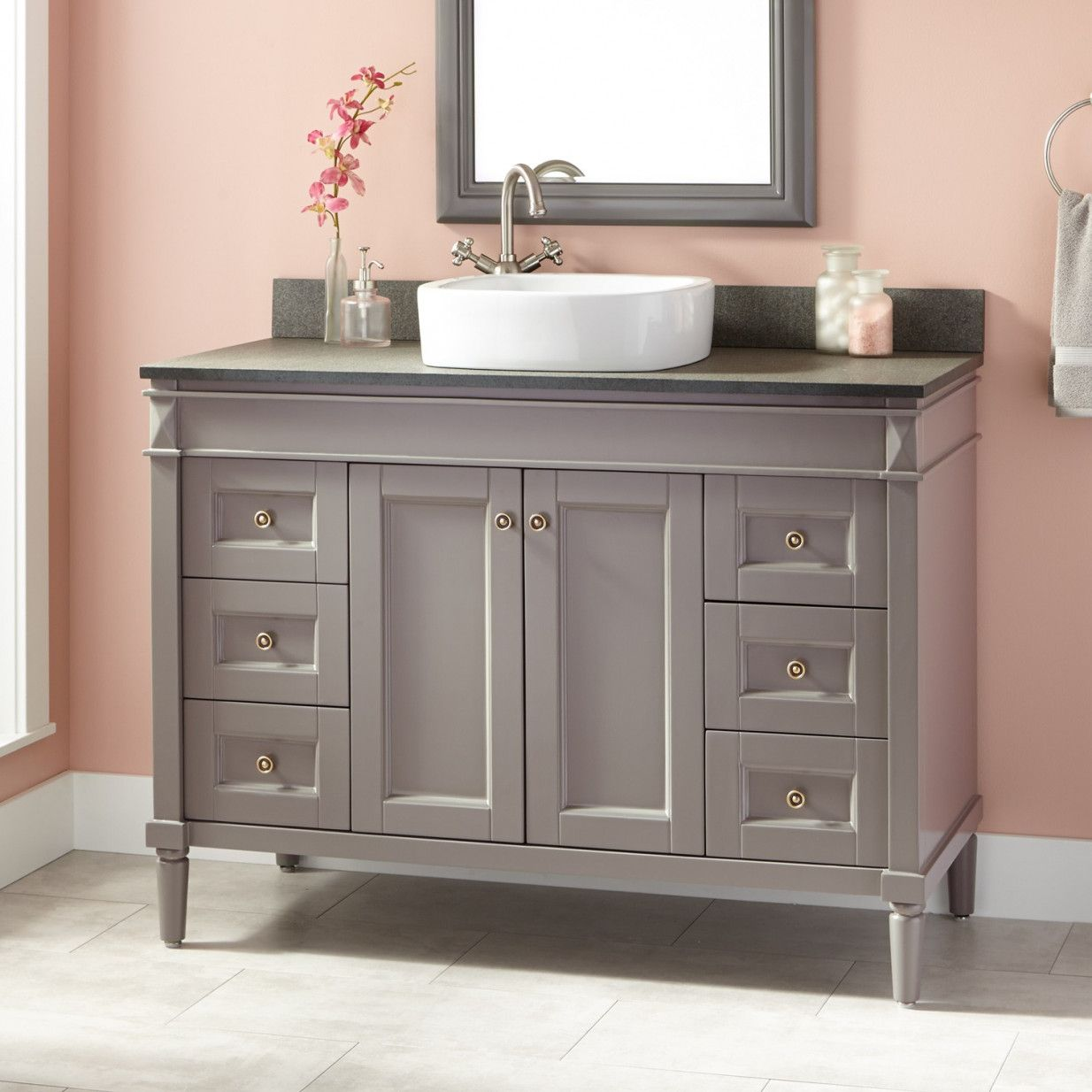 2019 Bathroom Vanity Cabinets For Vessel Sinks   Favorite Interior Paint  Colors Check More At Http