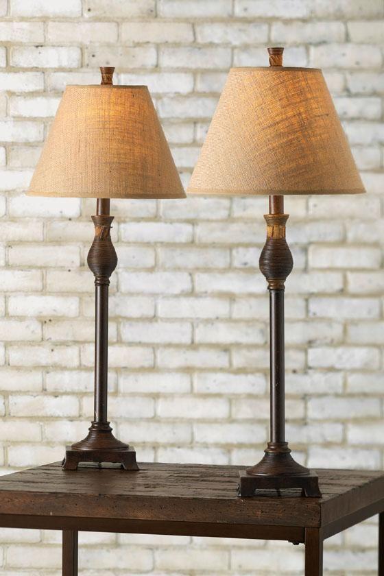 Santiago buffet lamps set of 2