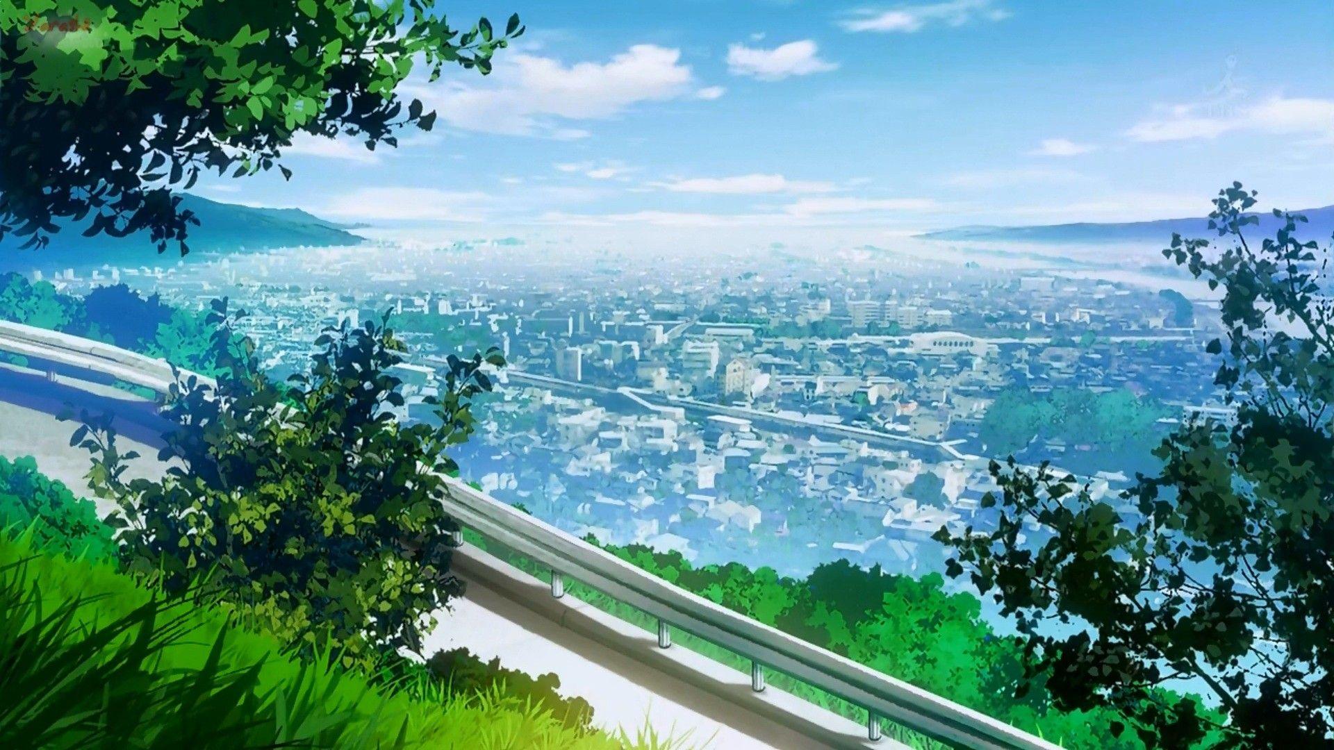 Cityscape Landscape City Anime Wallpaper Anime Scenery Wallpaper Scenery Wallpaper Anime Scenery