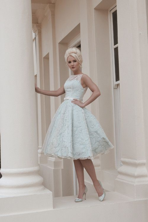 Bridal Wear - full length gowns, retro Fifties and tea length ...