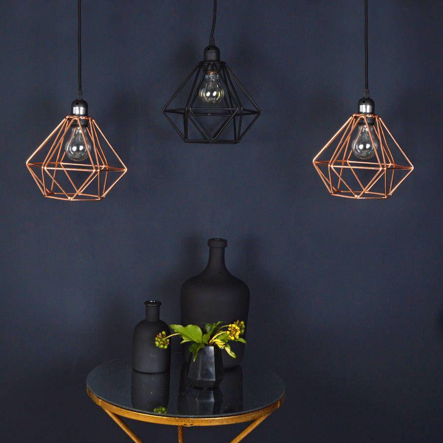 Copper wire pendant light kitchen ideas pinterest wire copper wire pendant light aloadofball Choice Image