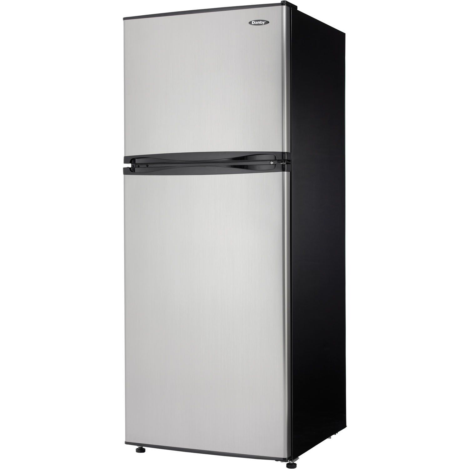 Danby DFF100C1BSLDB Refrigerator with Top-Mount Freezer, 9.9 Cubic ...