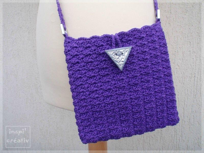 Tuto gratuit en francais plusieurs autres modeles crochet sacs pinterest tuto gratuit en - Sac en tricot a faire soi meme ...