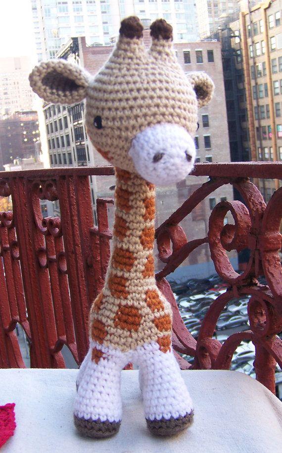 Crochet Giraffe Baby Giraffe Toy Giraffe Amigurumi Giraffe Crochet