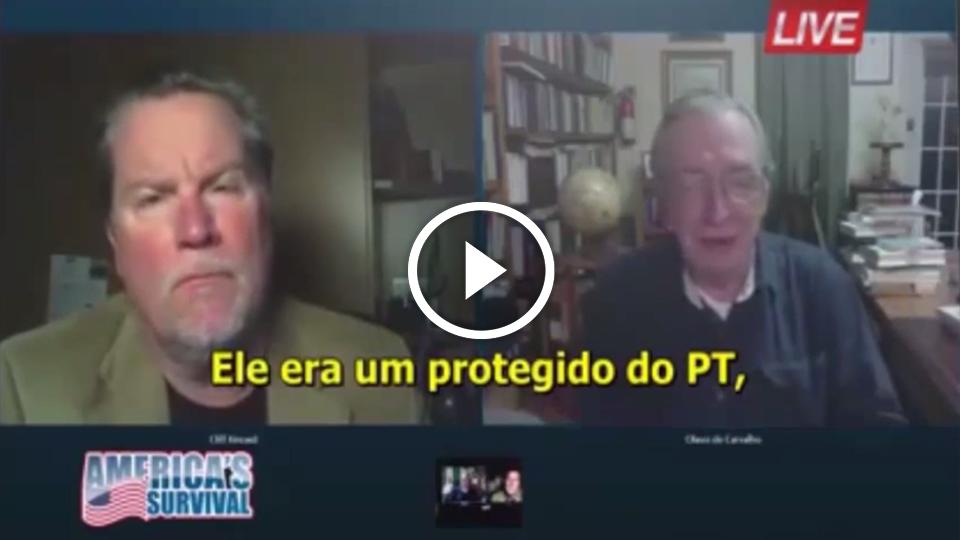 Folha Política: Em entrevista a canal dos EUA, Olavo de Carvalho explica por que a eleição de Dilma foi uma fraude; veja