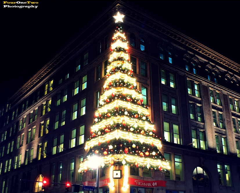 the joseph hornes department store christmas tree pittsburgh - Christmas Light Store