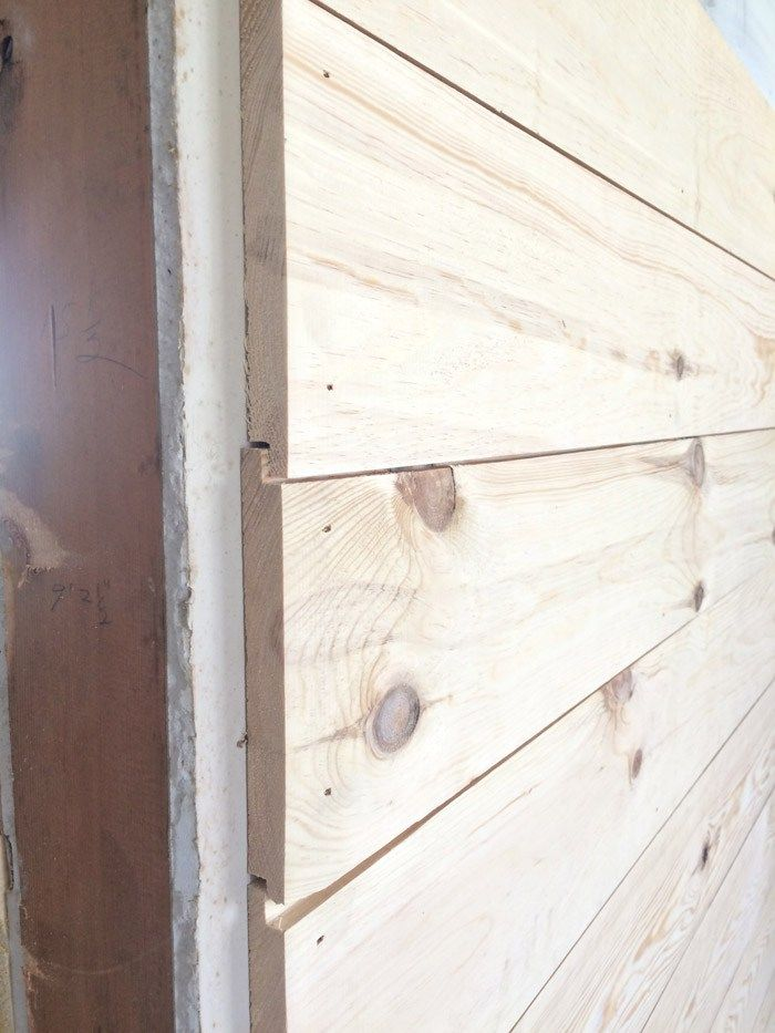 Flip House Update: It's Shiplap Week | Planked Walls ...
