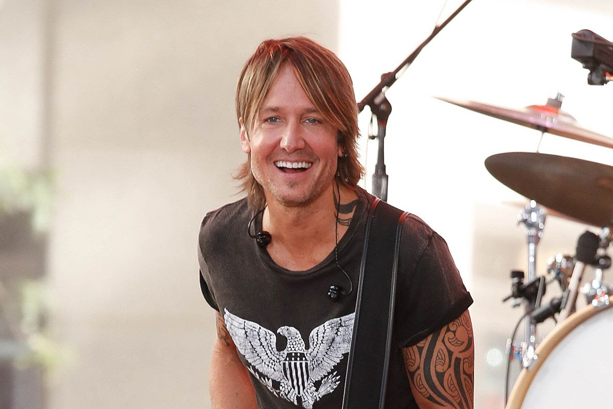 Keith Urban Shares Crazy Throwback Pic From First