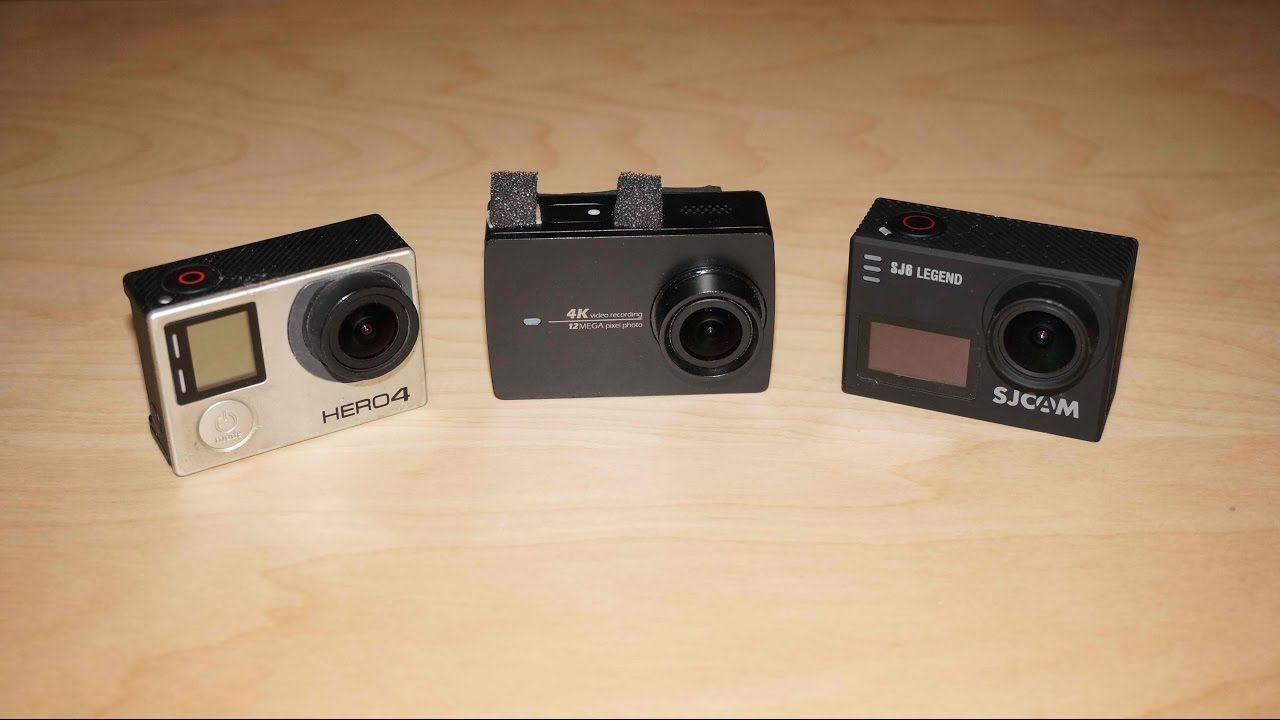 Gopro Hero 4 Vs Yi 4k Sjcam Sj6 Legend Hd Action Sports Cameras Camera Sport Kamera Xiaomi Basic Edition International Case Waterproof Original
