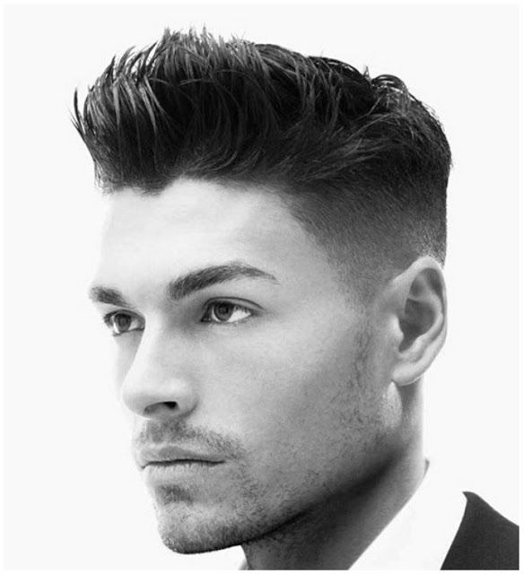 Short Mens Hairstyles For Straight Hair