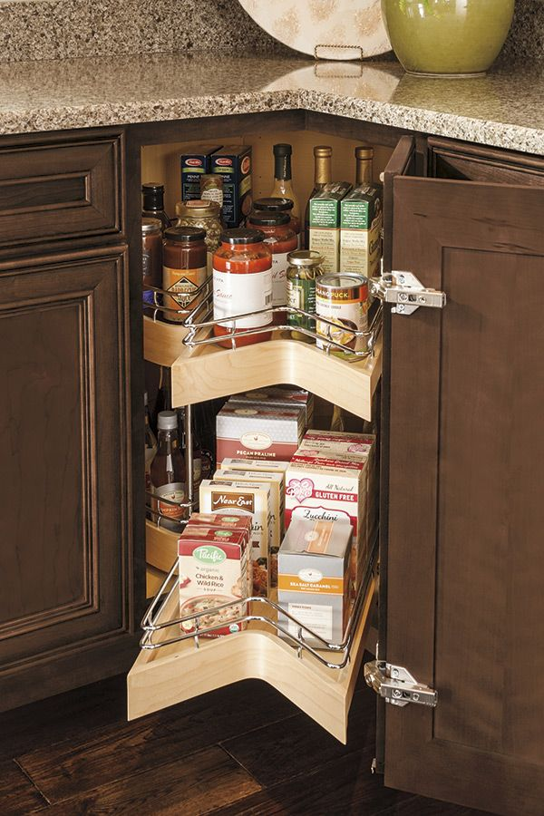 maximizing the efficiency of corner storage space is the job of the lazy susan cabinet wit on kitchen organization lazy susan cabinet id=61096