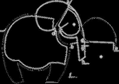 small dreamfactory: Free Pattern Cuddle Blanket Elephant