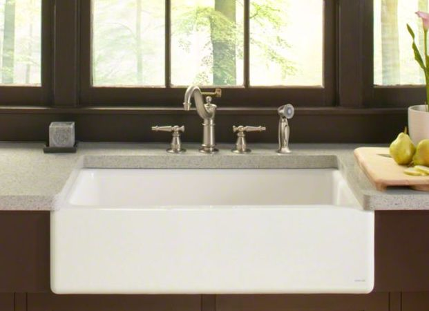 Apron-front kitchen sink - DICKINSON® - Kohler | Renovation idea ...