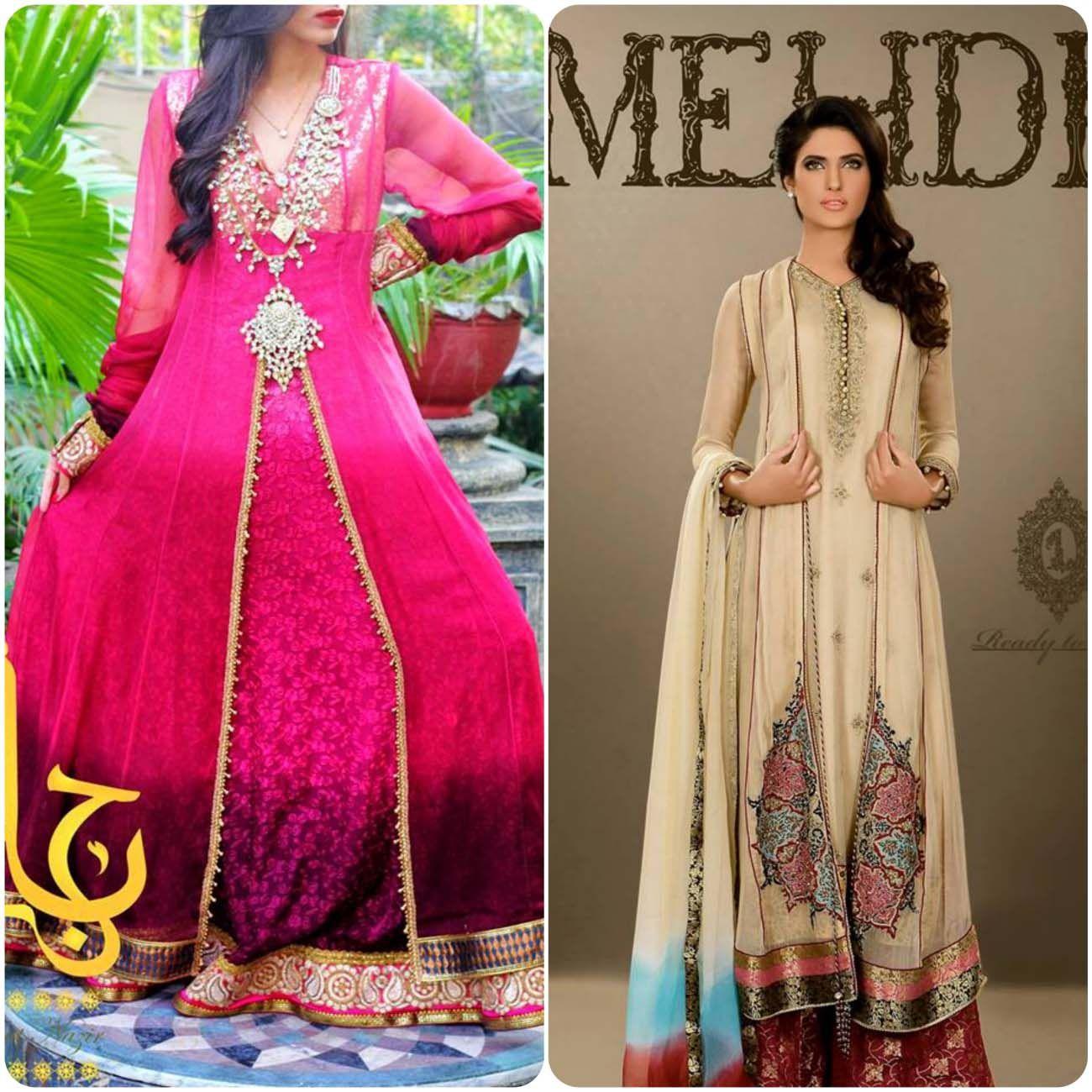 Double shirt dress design - Muslim Fashionhijab Fashionwomen S Fashionanarkali Bridalindian Dresses Anarkaliindian Wedding Dressespakistani Bridalindian Weddingsunique Dresses