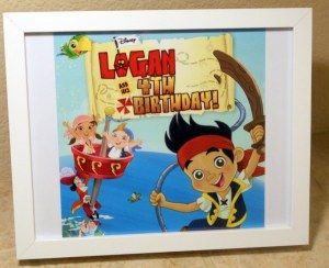 Jake and the Neverland Pirates Birthday Party! - Vintage Marigold