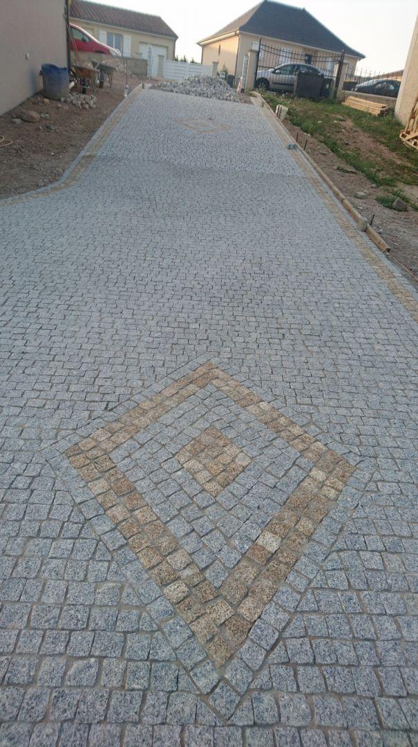 pose de pavés en granit du Portugal exterieur Pinterest Outdoor - Pose De Pave Exterieur