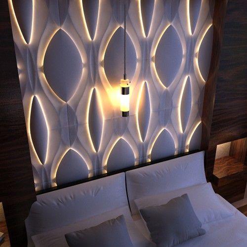 Textured Surface Custom 3d Wall Surface Panel Headboard3 3d Wall Panels 3d Wall Wall Design