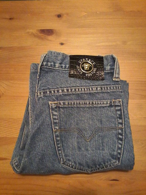 b70b1f9a Vintage Authentic Unisex Versace Jeans Couture Jeans | vintage on ...