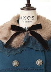 axes femme online shop|ダブル釦Aラインコート