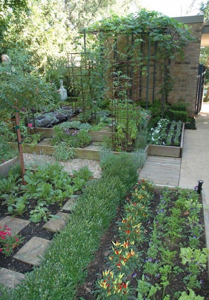 Vegetable Garden Potager Home Ideas Vegetable Garden Design