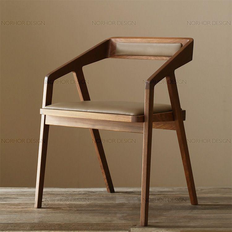 manger en bois massif fauteuil