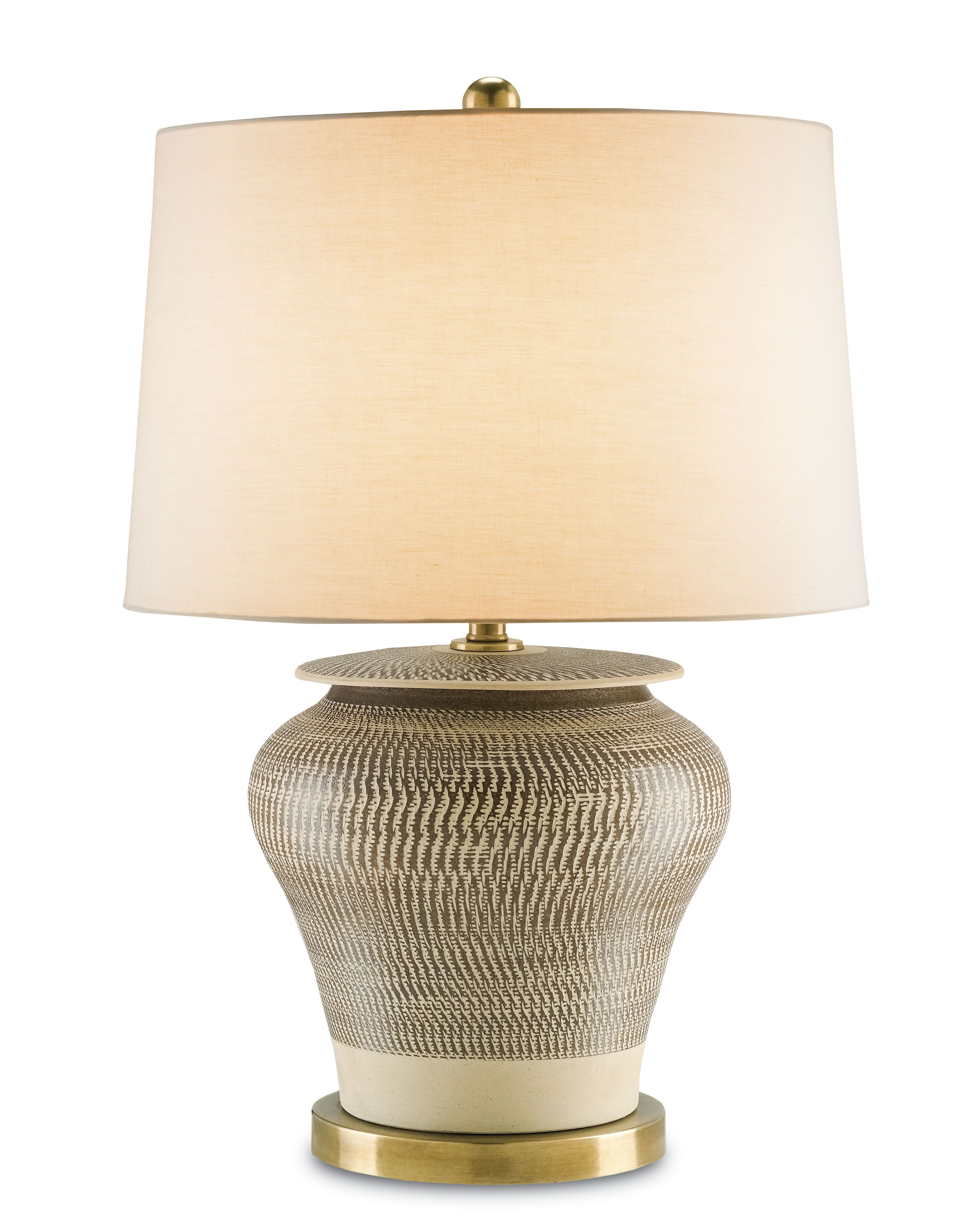 Currey Company Available At Robb Stucky Brown Table Lamps Table Lamp Brass Table Lamps