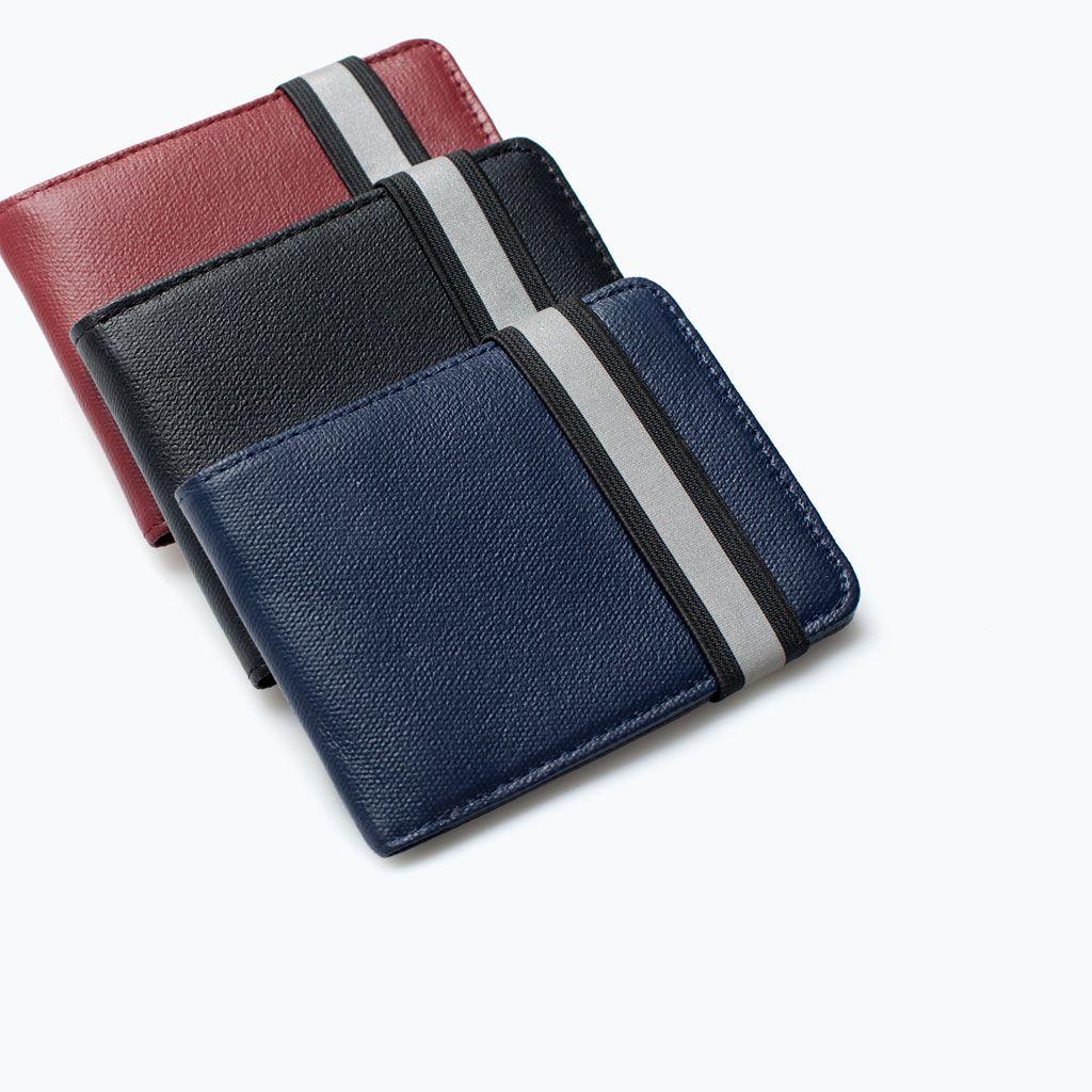 49c670bb ZARA - MAN - WALLET WITH ELASTIC BAND | purse | Wallet, Zara, Zara man