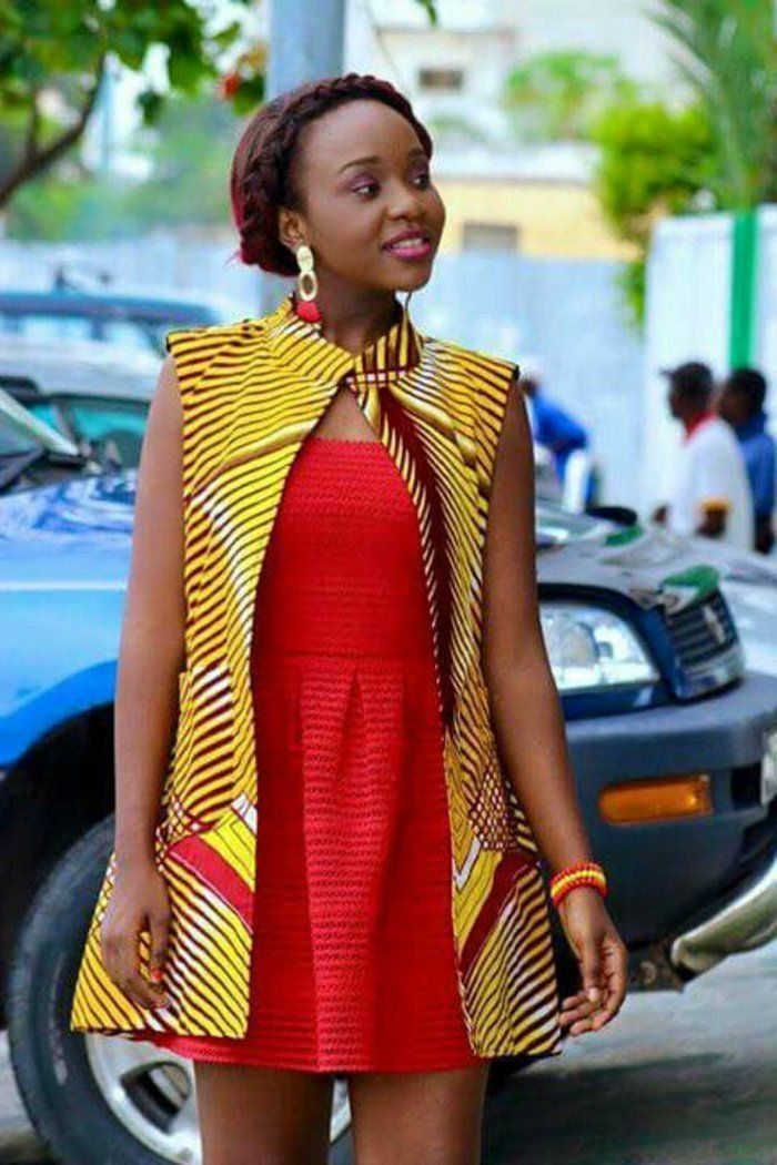 1001+ exemples de couture africaine chic de nos jours | Mode africaine pagne, Styles ...