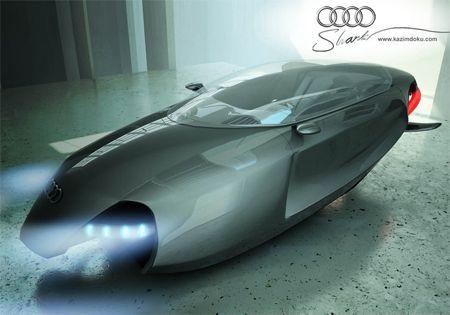Futuristic Audi Shark Sports Car Concept Just Won Desire Design Competition