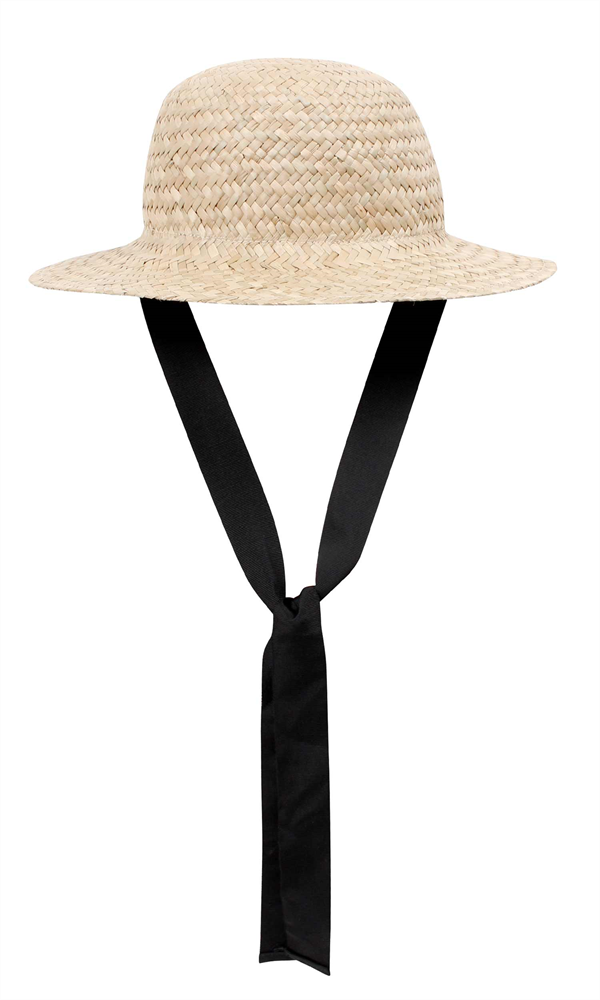 Ruby Starw Hat With Black Grosgrain Ribbon Composition Main 100 Straw Contrast 100 Polyester Made In China Hats Straw Hat Outfit Accessories