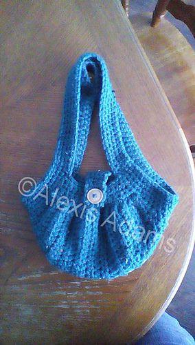 Mini Fat Bag Free Crochet Pattern By Alexis Adams Crochet