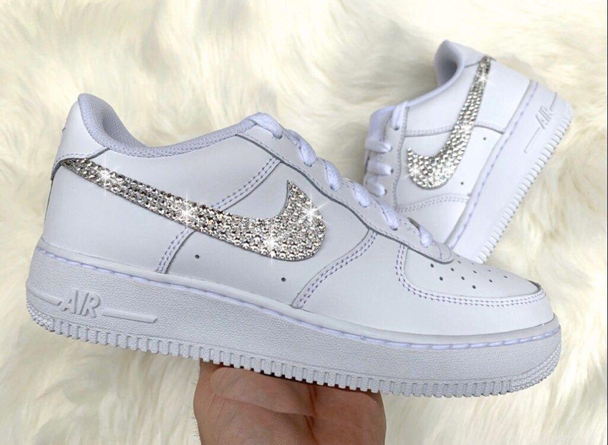 Nike Air Force 1 in 2020 Bling nike shoes, Nike air