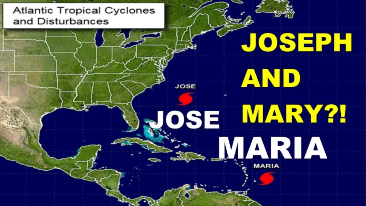 What Are They Getting Ready For Hurricane Jose Maria Joseph Mary Youtube Names Of God The Lord Is Good Jesus Is Coming