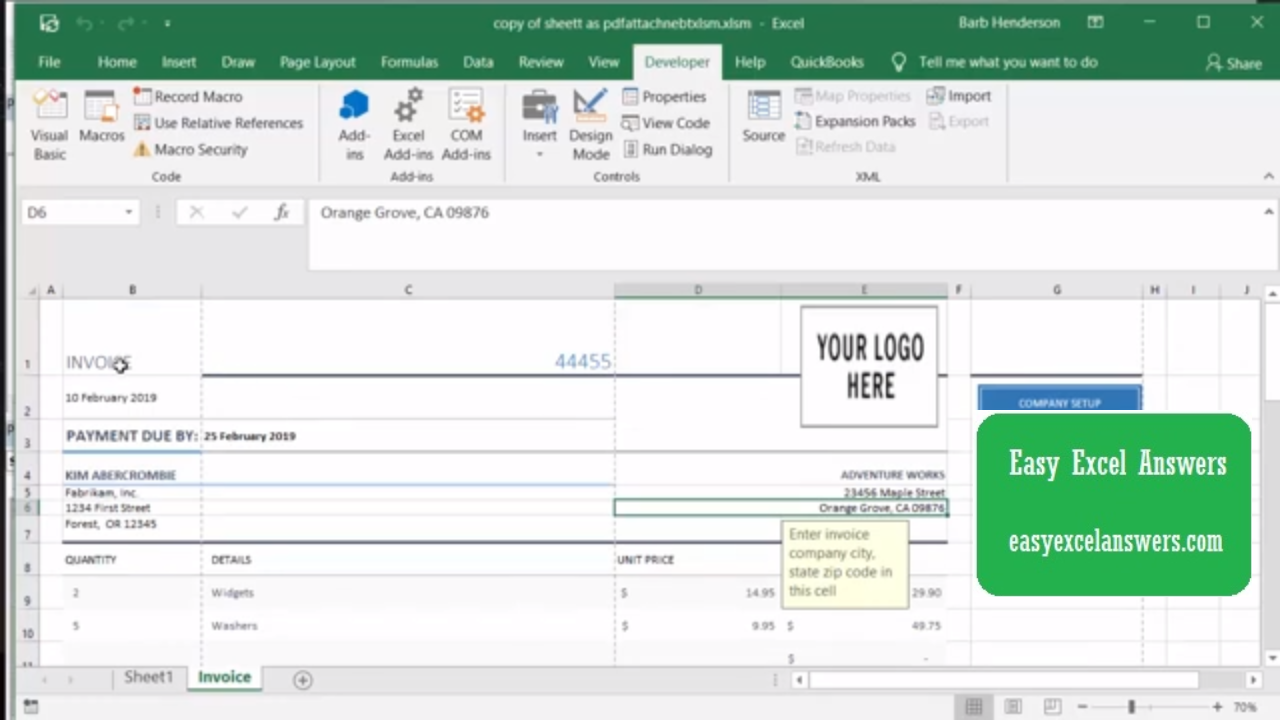 Insert Pdf Into Excel An Excel Tip You Didn T Know About Excel Hacks Excel Excel Tutorials
