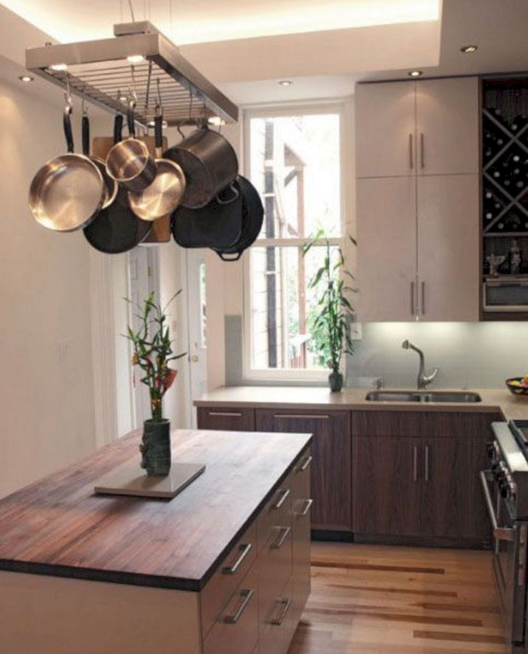 marvelous beautiful kitchen | 35+ Marvelous Kitchen Cabinets Hanging From Ceiling For ...