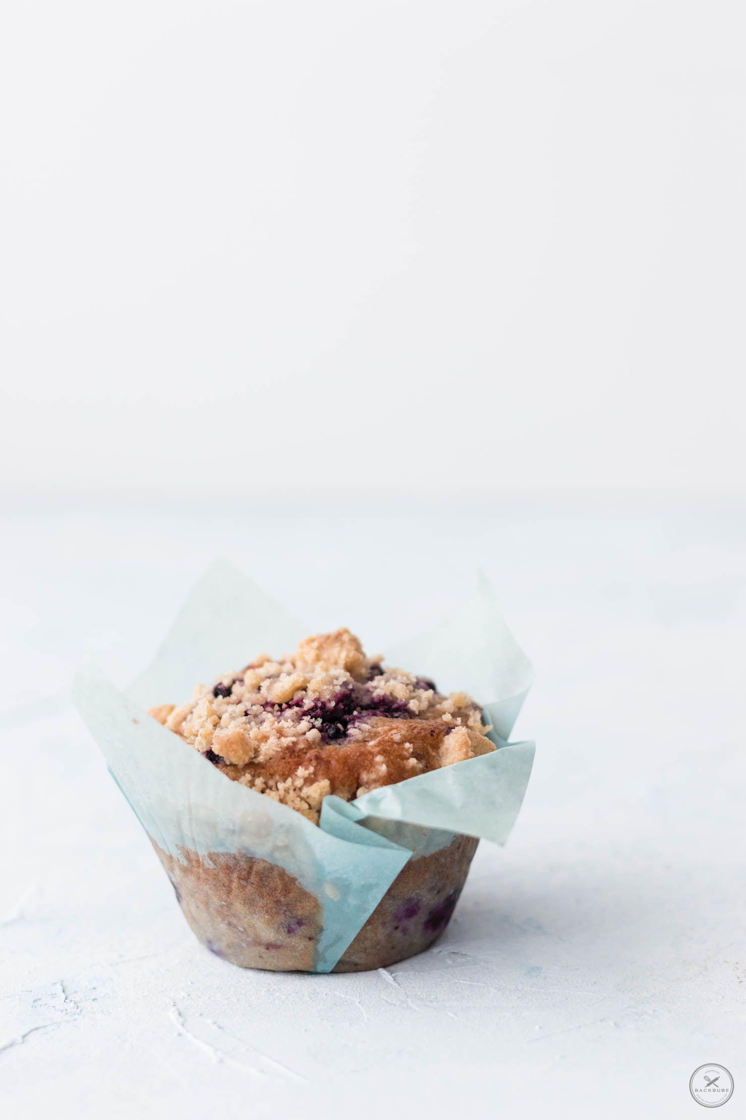 Rezept blaubeer muffins mit topping
