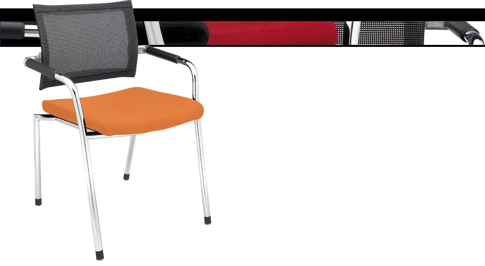 Strata Side Chairs from Dauphin.
