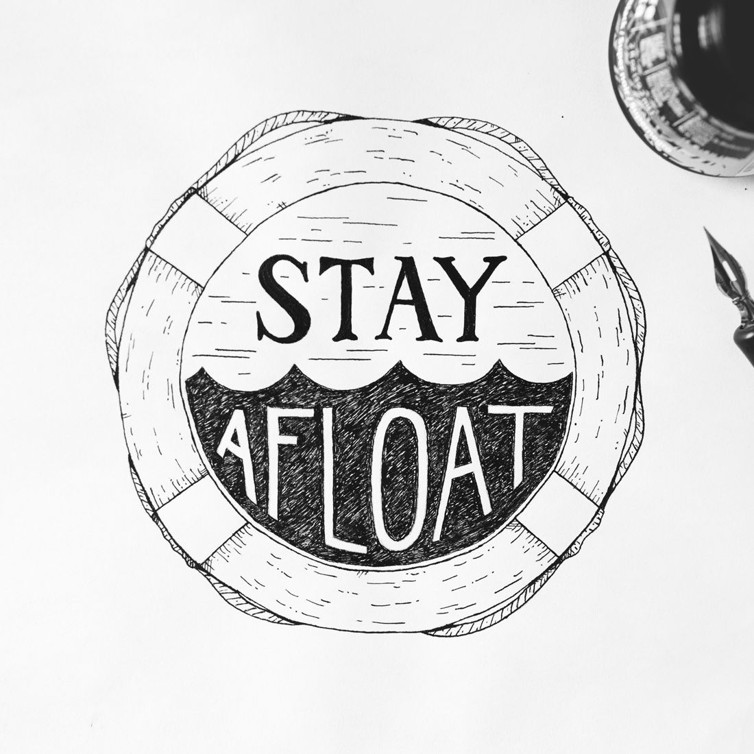 Nicholas Moegly | Stay Afloat T-Shirt