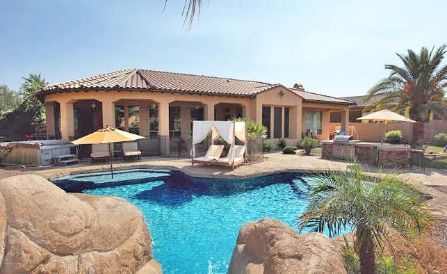 Pool Homes For Sale In Chandler Az 50th Best Us Cit Arizona House Chandler Arizona Arizona Pools