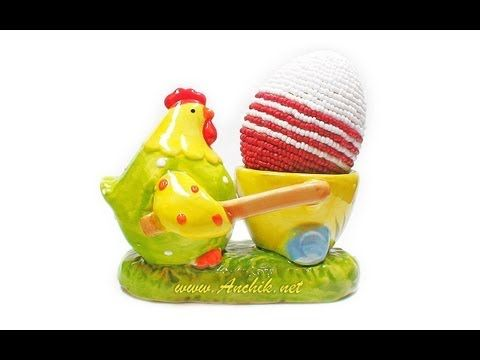 Tutorial: Easter egg made of beads / Пасхальное яйцо из бисера