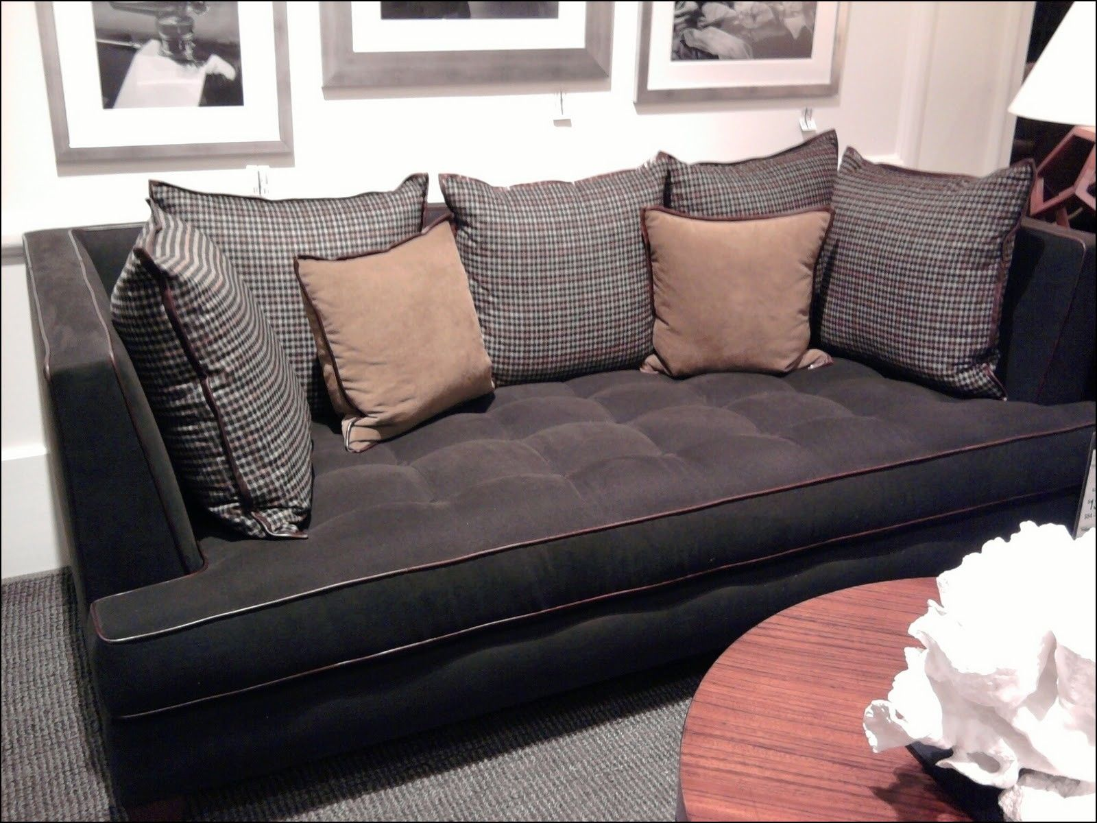 Wide Seat Couches Deep Seated Sofa Deep Sofa Deep Couch