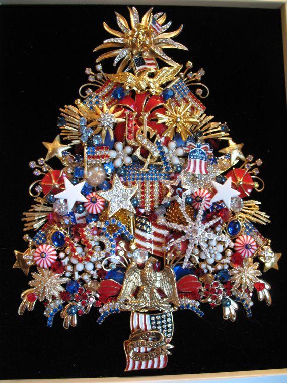 Image result for flag red white blue necklace Crafts Pinterest