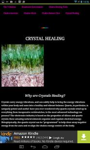 Crystal healing for chakra balancing Android app    Chakra