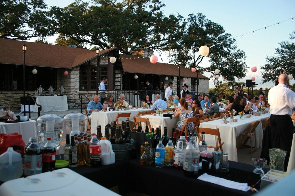 Outside Tables Zilker Clubhouse Park Getting Married Wedding Valentines Day Weddings