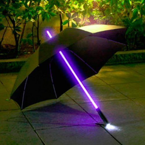 Led Umbrella Amazon: BARGAIN Betron Light Saber LED Umbrella With Torch NOW £12
